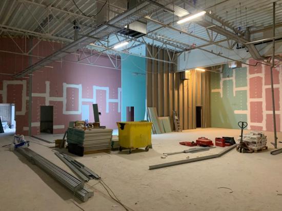 Realizacja Polomarket w Galerii Echo Pabianice Ul. Zamkowa 31